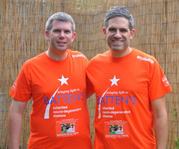Sibling fundraisers: Michael and Richard Brownnutt