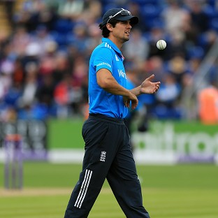 Alastair Cook saw his team beaten in Cardiff