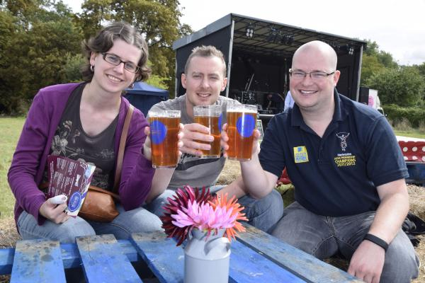 All hail to the ale: The festival provides a great backdrop for people to get together
