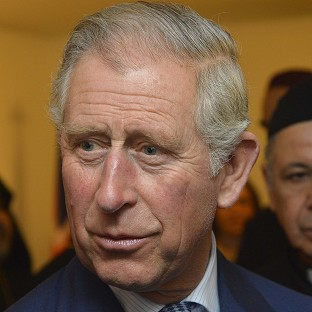 The Prince of Wales described his sadness at the per