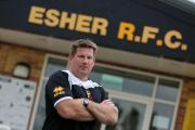 Tough test: Esher director of rugby Mike Schmid knows his men will face a tough challenge at Richmond today