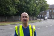 """Fighting the good fight"": litter campaigner Dan Goode"