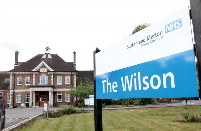 The Wilson Hospital in Mitcham