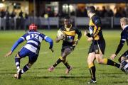 In form: Winger Spencer Sutherland was on the scoresheet again for Esher at the weekend