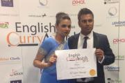 Success: The award ceremony for the English Curry Awards