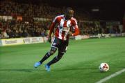 Thanking his lucky stars: Brentford defender Moses Odubajo