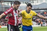 Ring ready: Brentford's Harlee Dean reckons playing at the Riverside stadium will help his side's cause