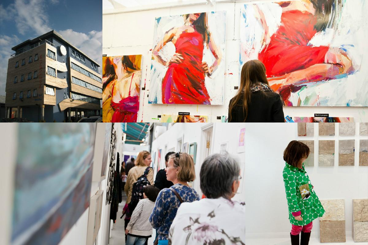Meet more than 100 artists and buy their work at the Wimbledon Art Studios, which is open to the public until Sunday