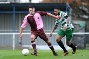 On his way: Corinthian Casuals club captain Joe Hicks will step up a level with Hampton & Richmond Borough next term