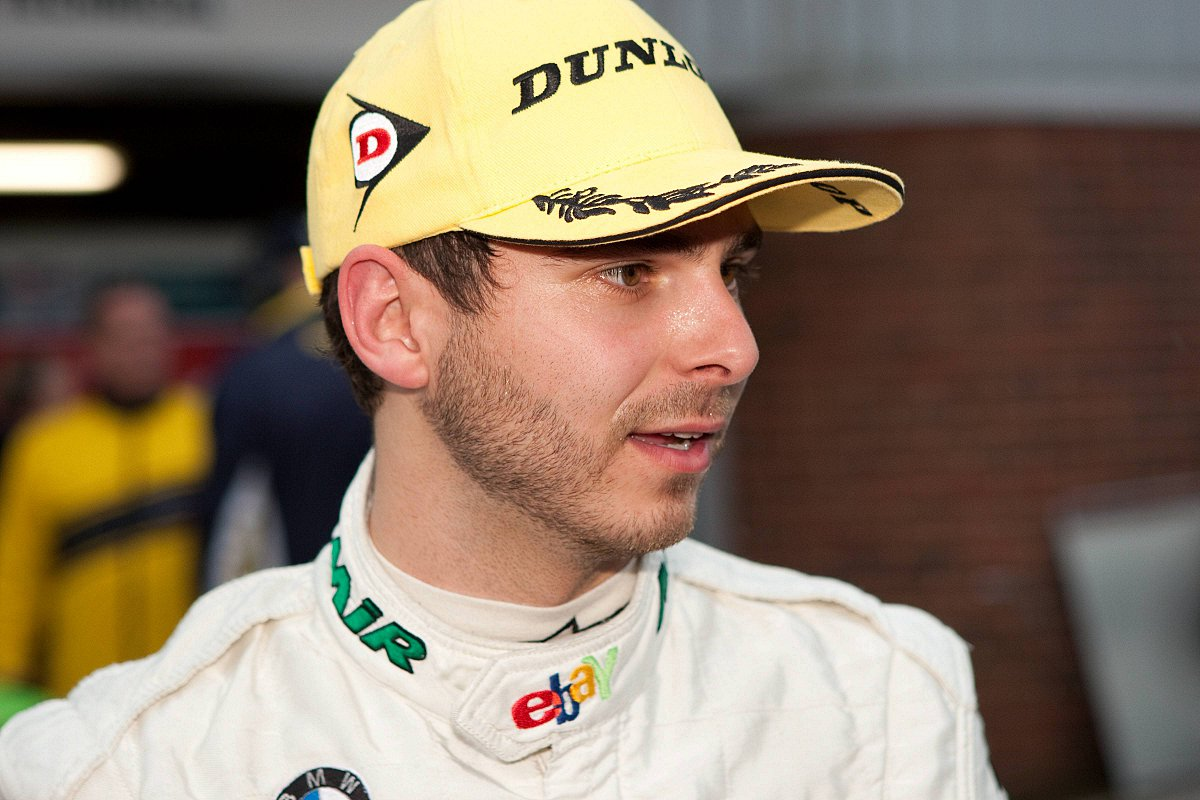 On the up: Former British Touring Car Championship driver Tom Onslow-Cole is enjoying life on the podium this season