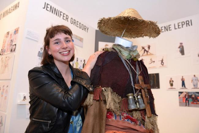 Wimbledon College of Art student Jennifer Gregory is the first person to win the prize