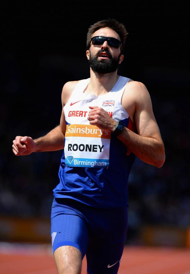 On his way: Croydon Harrier Martyn Rooney will heading to Brazil after all