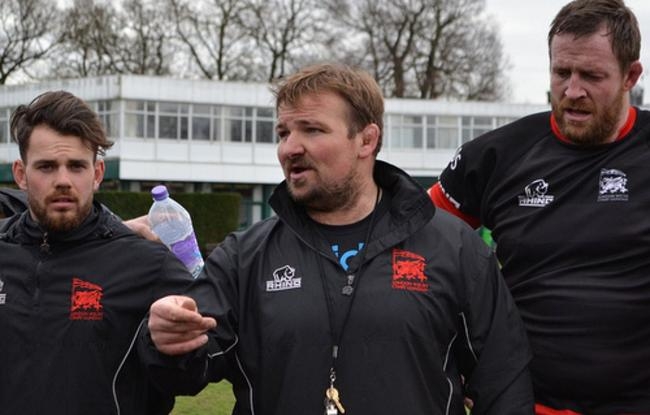 Looking forward to the challenge: Rosslyn Park head coach James Buckland