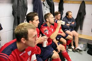 Football: Dressing room life is easy when you graft