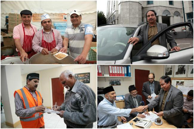 Behind the scenes: volunteers are busy preparing for Jalsa Salana this weekend