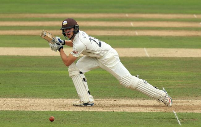 Doubt: Ex-Weybridge cricketer Zafar Ansari is now an injury concern for England's Test squad to face Pakistan