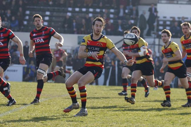 Star quality: Rob Kirby was accurate with the boot in Saturday's win over Hull Ionians