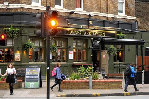 The Raynes Park Tavern, where the spiking is thought to have happened