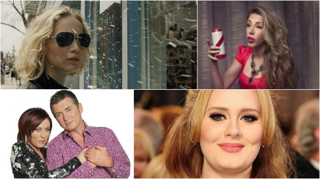 Things to look forward to: Jennifer Lawrence in Joy, comedian Katherine Ryan, Shane Richie and Jessie Wallace in The Perfect Murder and Adele at the O2