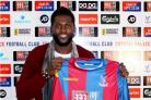 Emmanuel Adebayor made his Crystal Palace debut against Bournemouth last night.