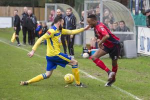 Hampton & Richmond: Nicke Kabamba is the best in the league says boss Alan Dowson