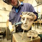 Wimbledon Guardian: Watch how the famous Bafta mask is made