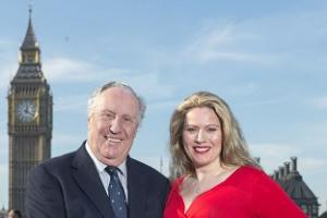 Novelist Frederick Forsyth takes on lyricist role in song for soldiers