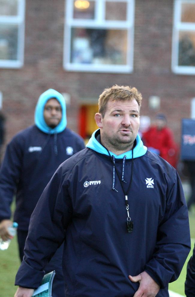 Going: James Buckland's time at Rosslyn Park have come to an end