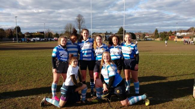 Day to remember: The Warlingham Wildcats girls U18 team
