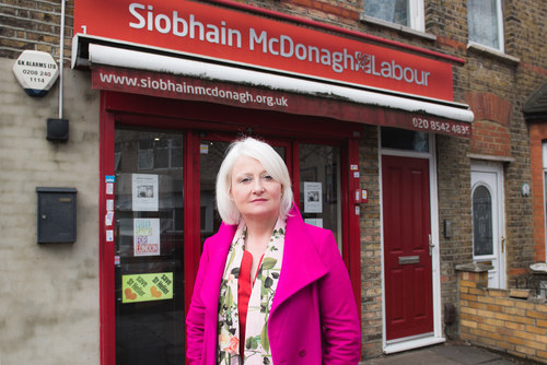 Siobhain McDonagh MP will be debating the Living Wage in Parliament on April 18