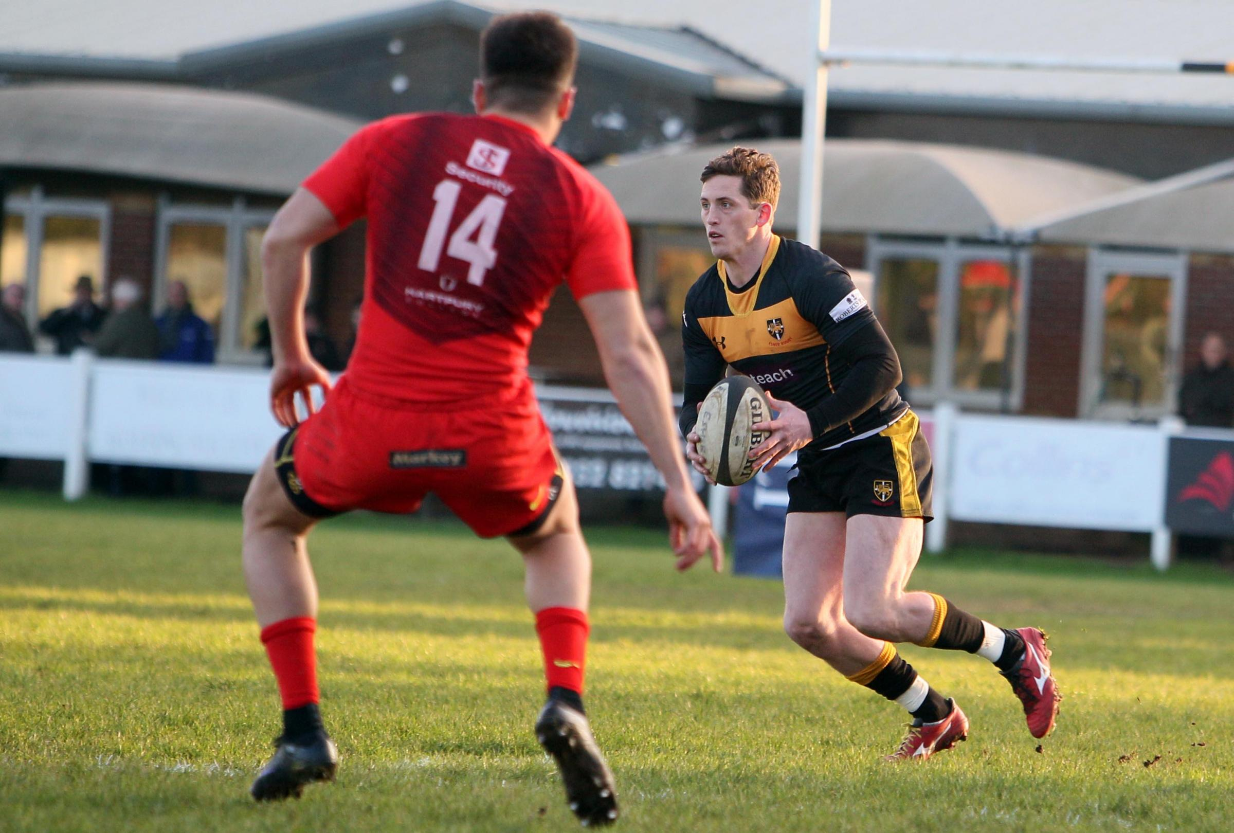 Threat: Esher player/head coach Tom Williams is looking forward to his new coaching role