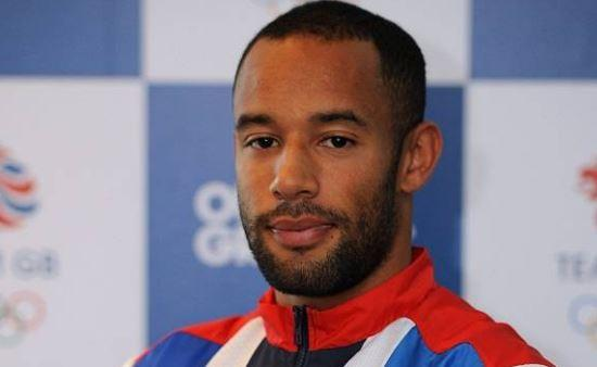 Confident and calm: James Ellington is in the 4x100m relay Team GB squad with fellow Croydon man James Dasaolu