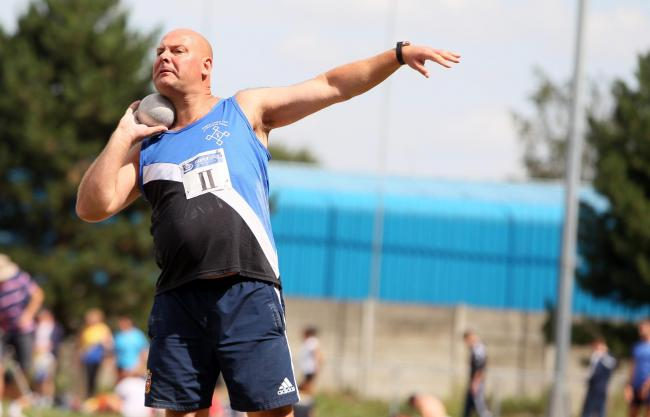 Old head: Experienced thrower Gareth Cook will be a key man in Nottingham on Saturday