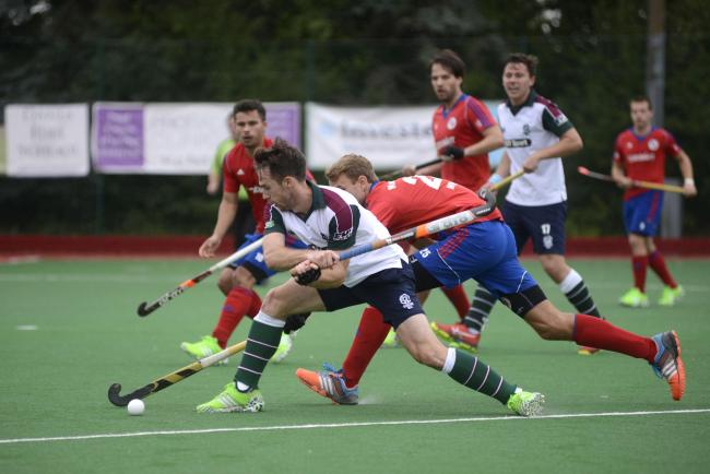 Under the knife: Surbiton's Chris Grassick has been ruled out of the forthcoming Men's Hockey League Premier Division season after knee surgery