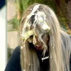 Wimbledon Guardian: Aubrey O'Day and Bear in explosive showdown over custard pie fight in Celebrity Big Brother
