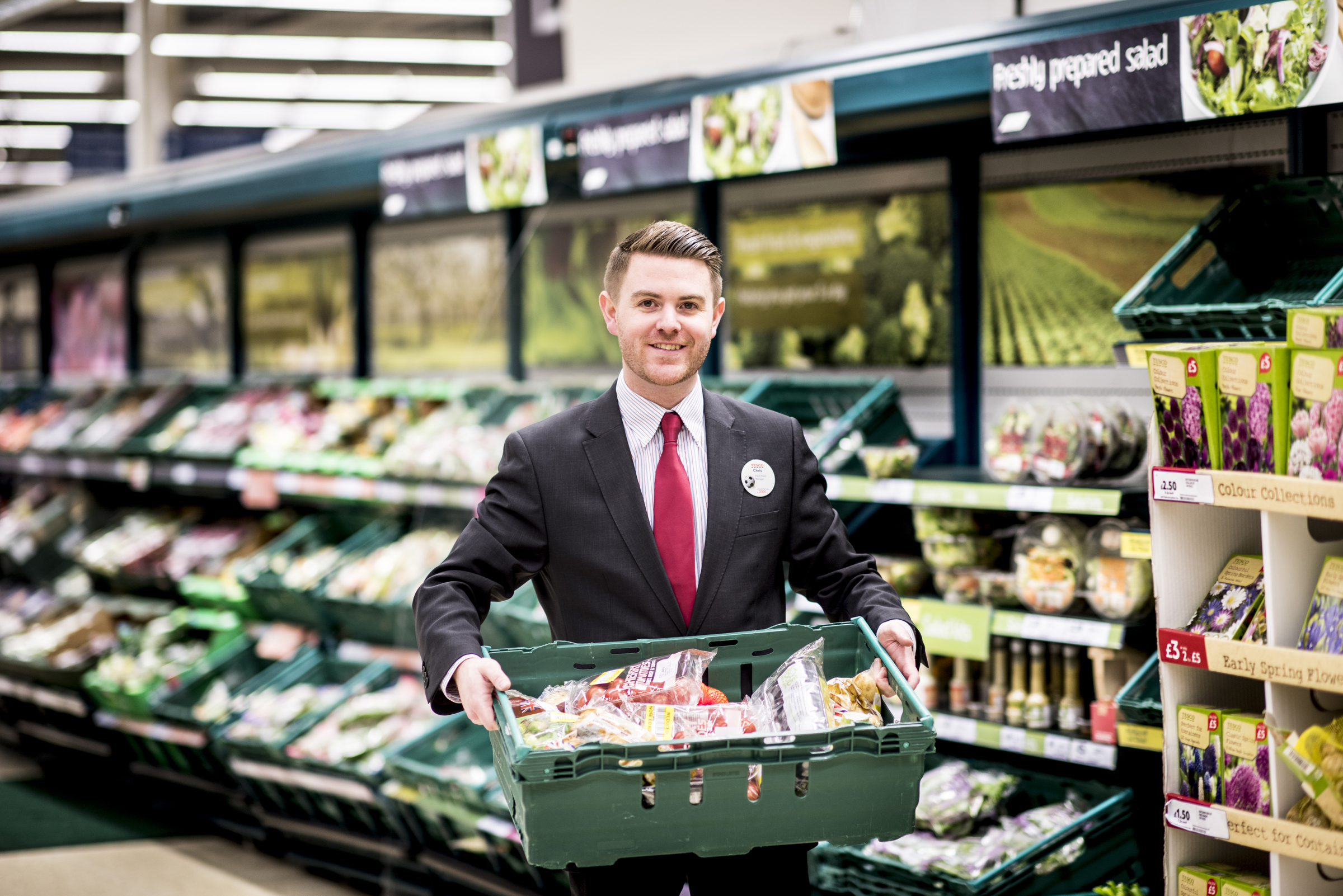 Tesco calls on Wimbledon charities to join free food scheme