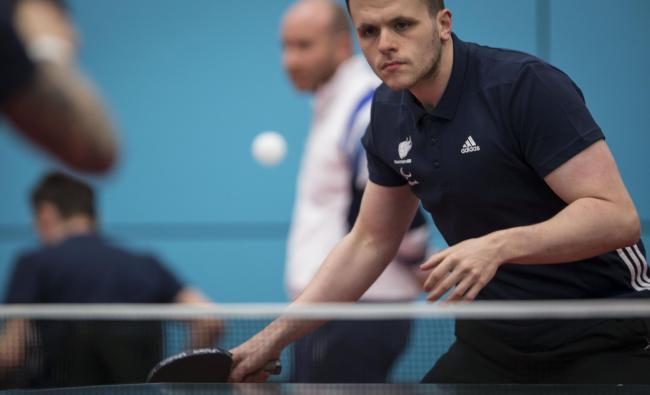 Focused: Wandsworth's Aaron McKibbin won bronze at London 2012, so now he wants to go even better