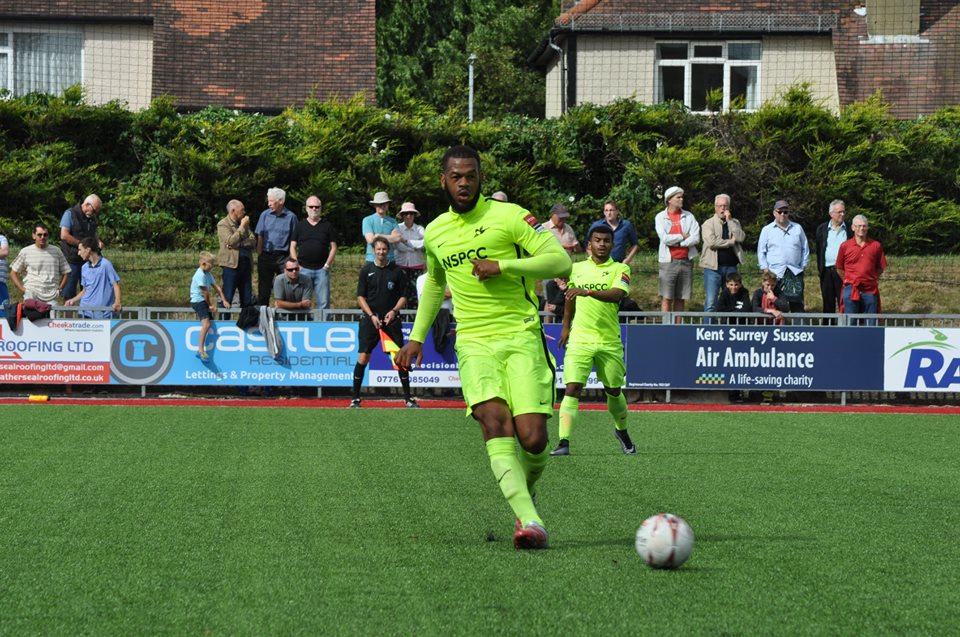 Confident: Jahmahl King can see the Robins progressing in the FA Cup at the second time of asking
