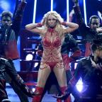 Wimbledon Guardian: Britney Spears admits to getting 'contact high' on stage