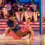 Wimbledon Guardian: Celebs can't get enough of Strictly Come Dancing - see Michelle Heaton's adorable dance with her son