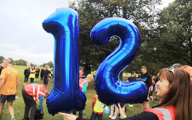 Happy days: Bushy Park parkrun celebrates the 12th anniversary of its first event