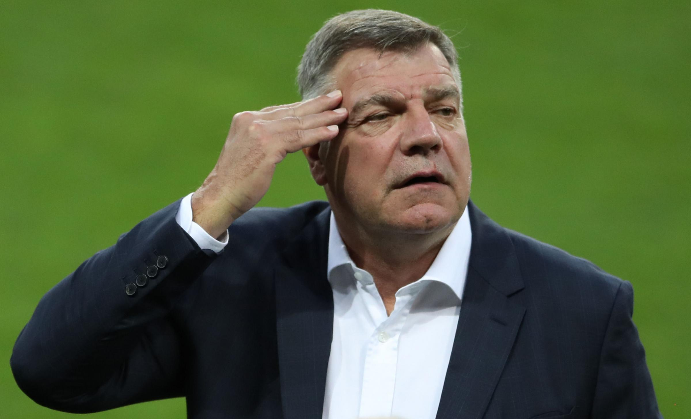 New Crystal Palace boss Sam Allardyce