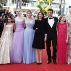 Wimbledon Guardian: Nicole Kidman dazzles Cannes again at The Beguiled premiere