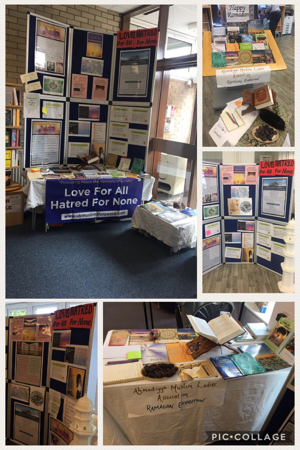 Spreading message of peace across Merton Libraries