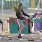 Wimbledon Guardian: Glastonbury clean-up begins as revellers head home