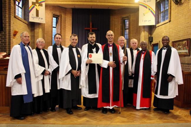 The Institution and Induction of the Rev Mark Davey