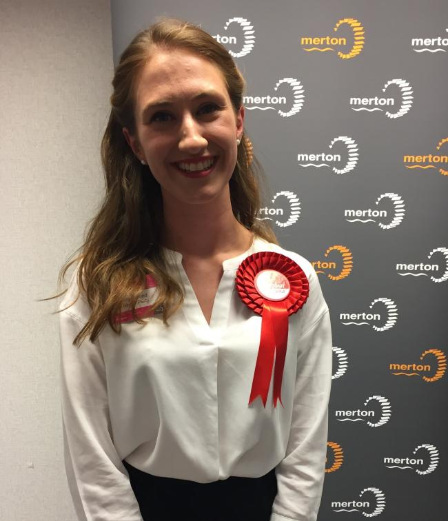 Kelly Braund from the Labour Party has been elected St Helier's new ward councillor