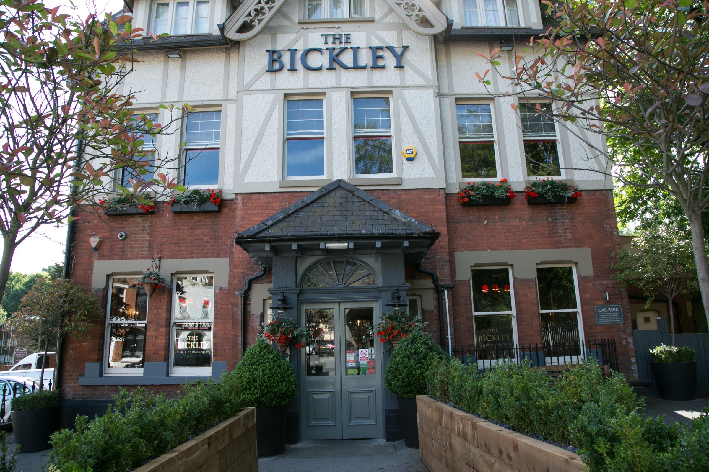 Plastic straws will not be used in the Bickley Pub and Steak House