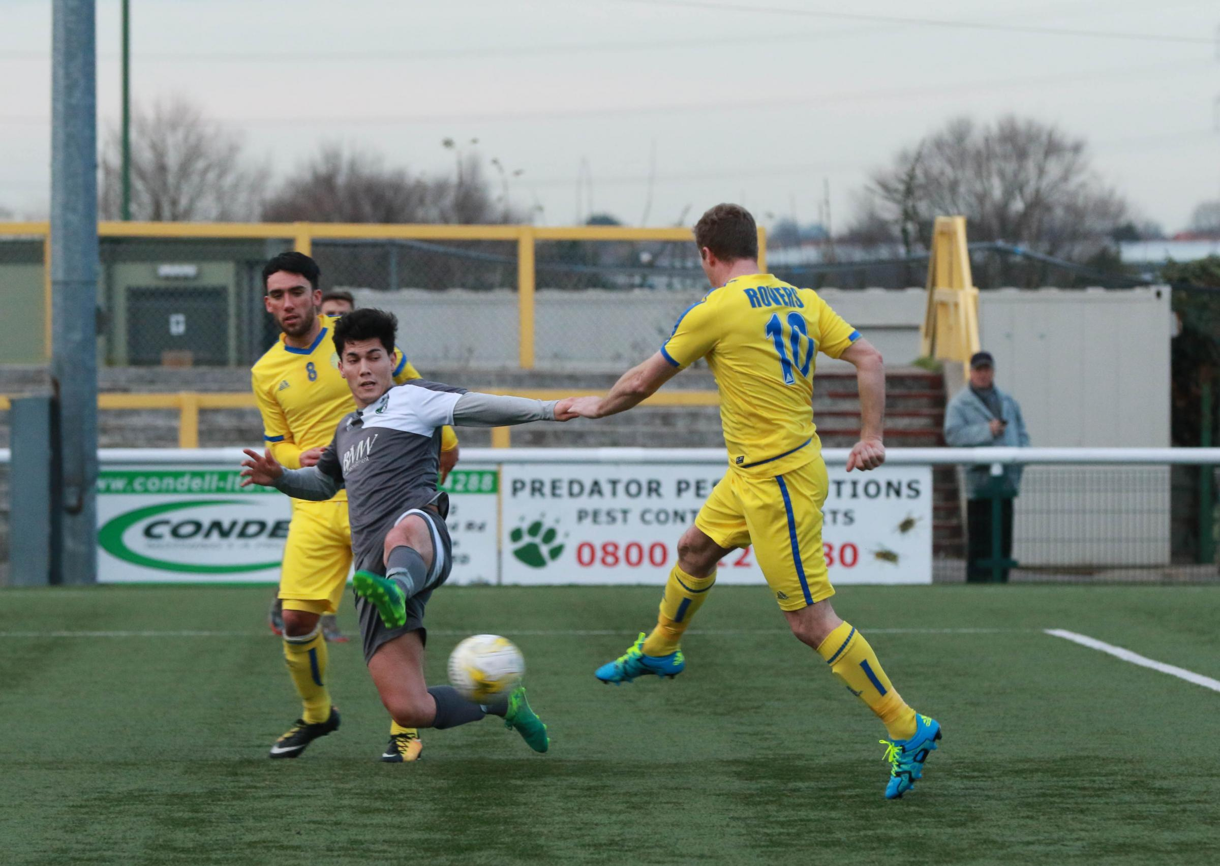 Sutton Common Rovers beat CB Hounslow United 2-1 on Saturday