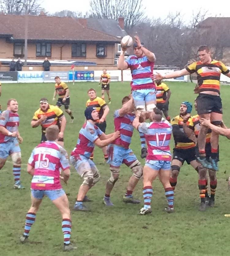 Rotherham Titans beat Richmond RFC in the B&I Cup last weekend.